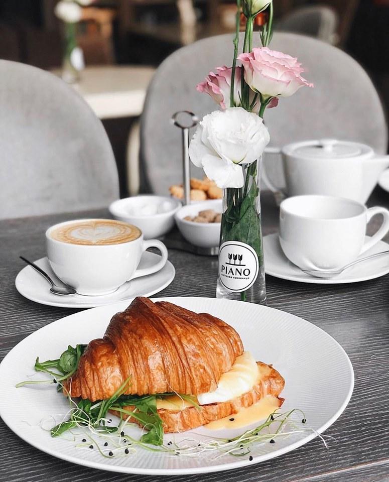 Завтрак в ресторане Кабинет Львов