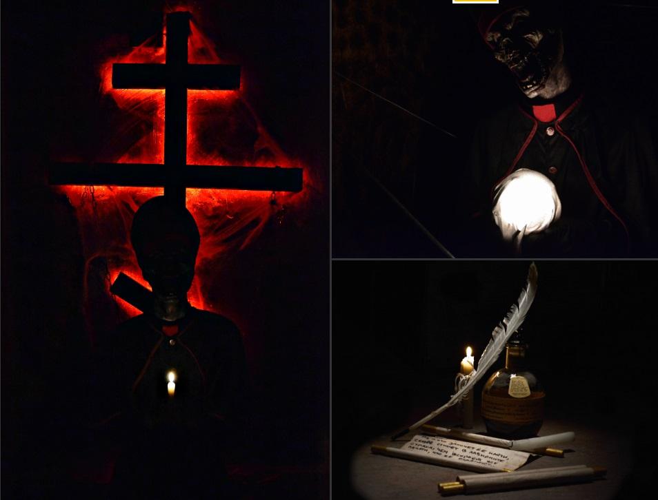 Нелицеприятные декорации к «Склепу»