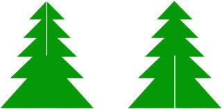 Схема елочки из бумаги