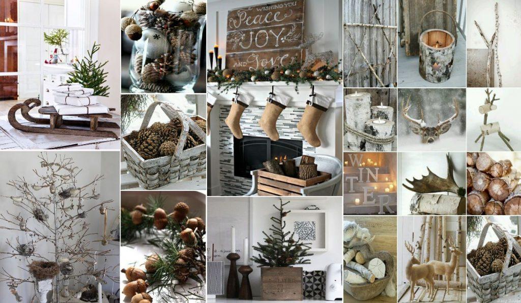 Новогодние украшения: скандинавский стиль