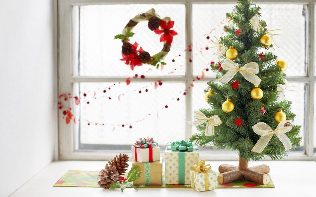 Маленькая новогодняя елка