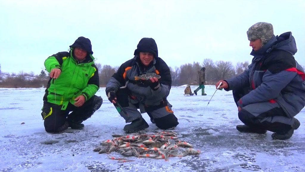 зимняя рыбалка декабрь 2020 год