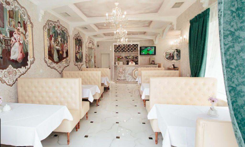 Ресторан «Тріумф».