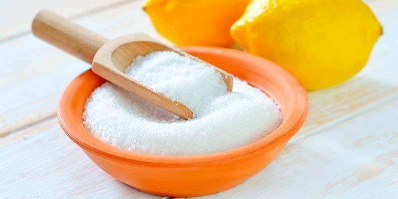 Чистка чайника лимонной кислотой