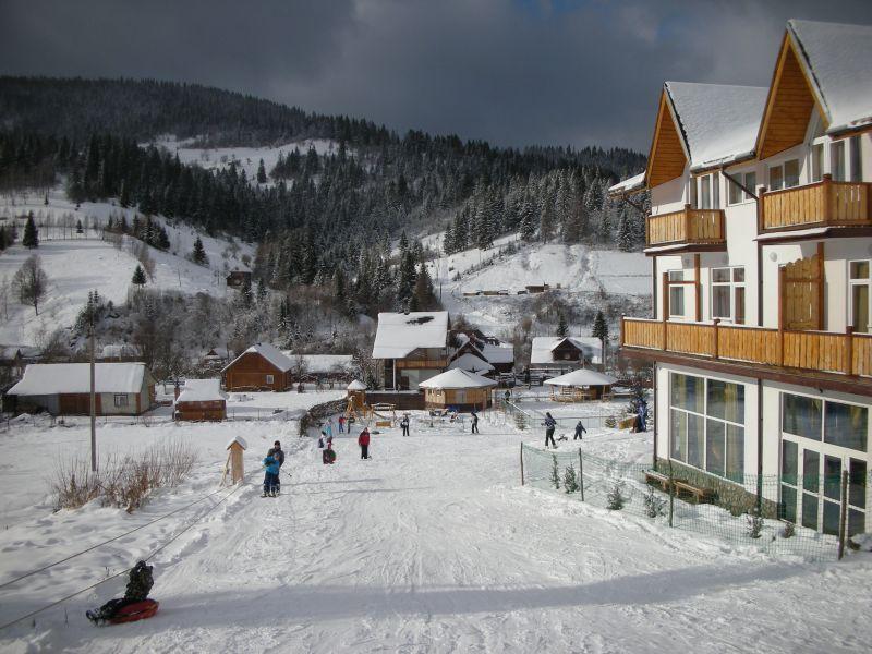 Отель «Admiral SPA» – отдых в Карпатах зимой