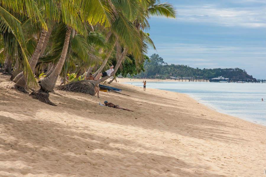 Пляж Маенам на острове Самуи