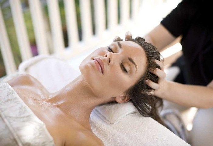 SPA для волосся з маскою і масажем