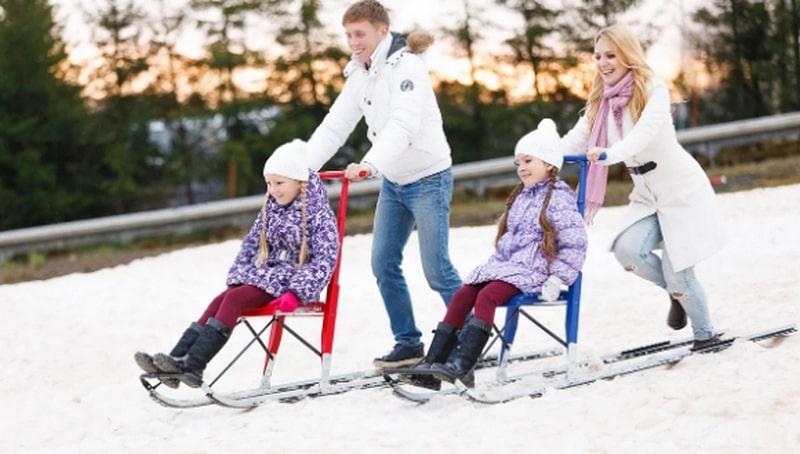Зимние развлечения от «S-Park»