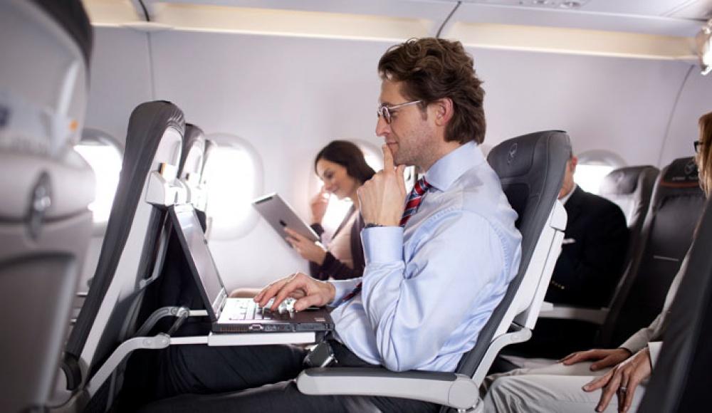 Гаджеты в самолете