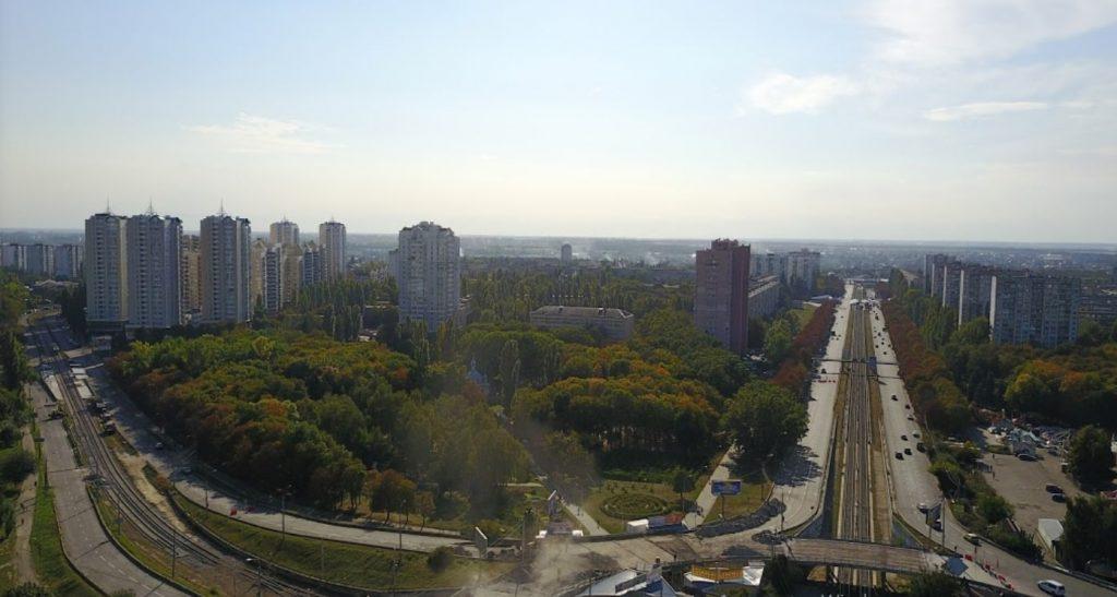 Парки на Борщаговке