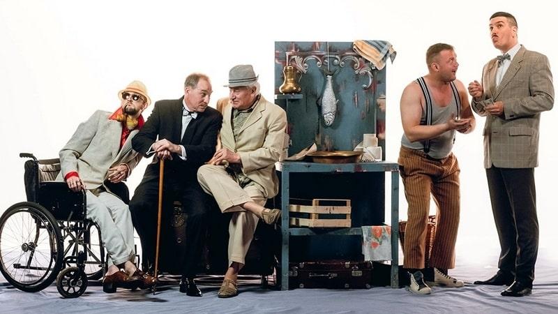 Спектакль «Любовь и тело в чемодане»