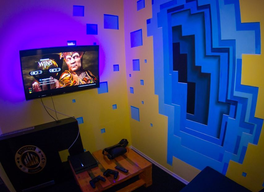 Стильный интерьер в одной из комнат кальянной ALLin lounge
