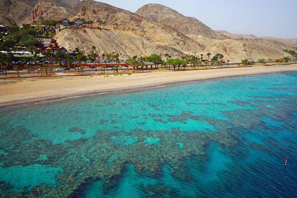 Коралові рифи на узбережжі Червоного моря, Ейлат