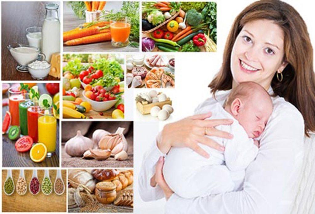 Раціон годуючої мами