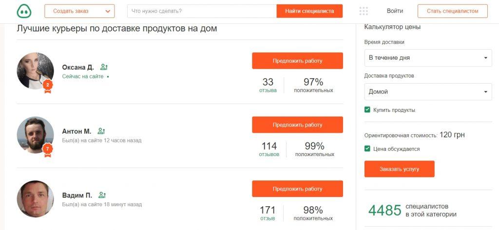 Кабанчик Харків доставка продуктів