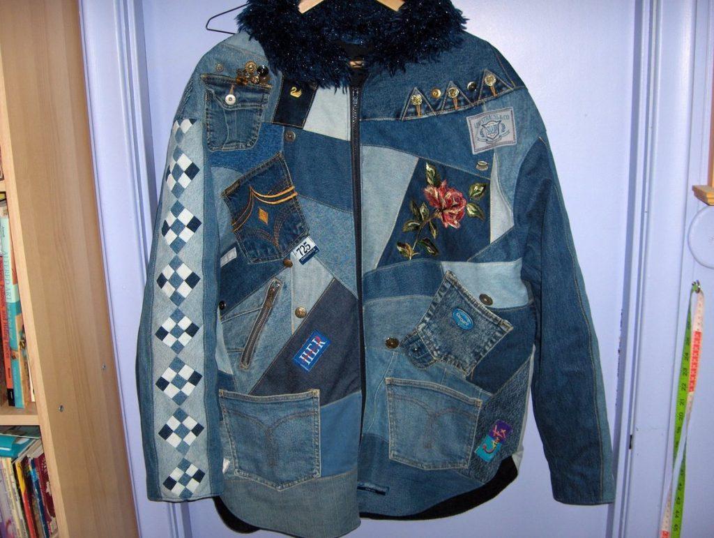 Куртка в технике пэчворк – мастхэв для весеннего или осеннего сезона