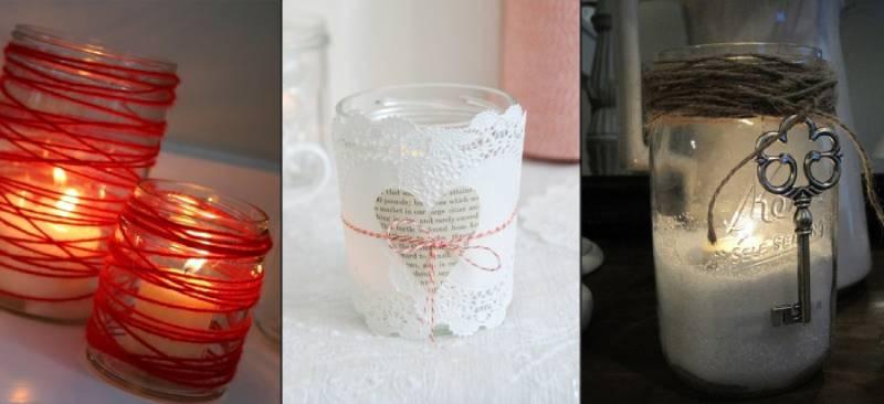 Декор свечей для ванной