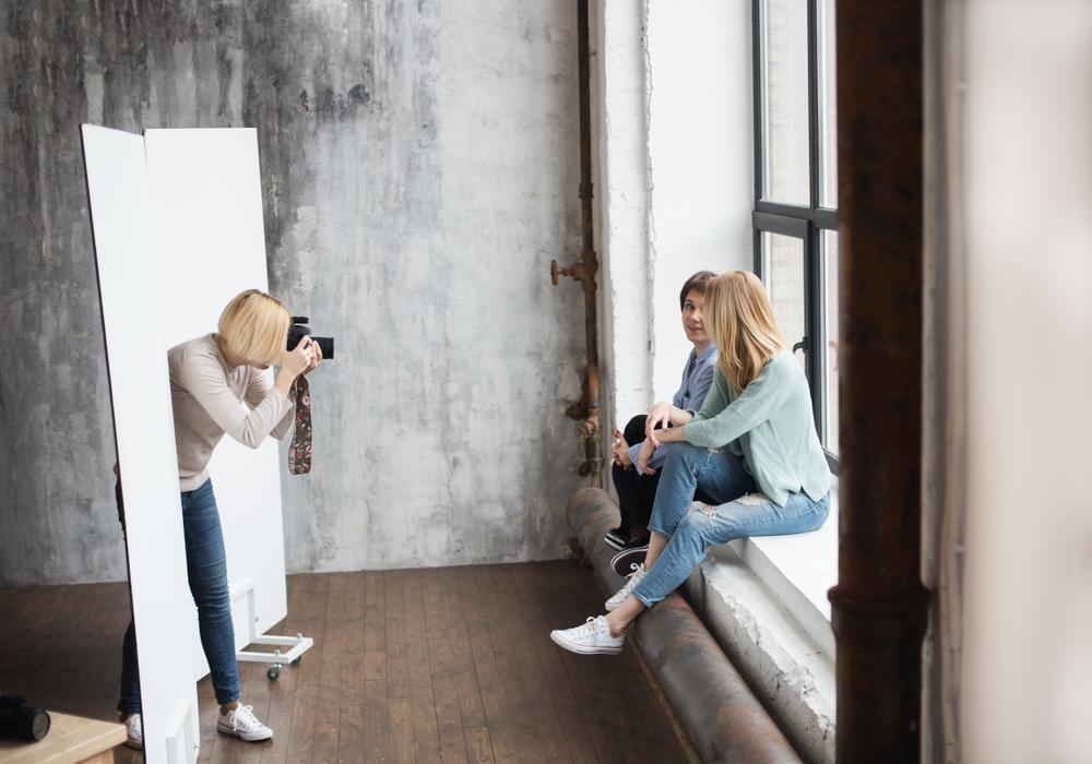 Фотосессия – прекрасный способ отдохнуть от повседневной рутины
