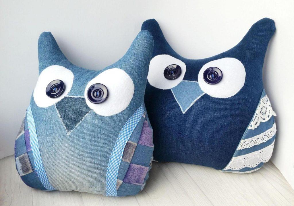 Два в одном – совы и подушки одновременно: порадуют детей и украсят интерьер