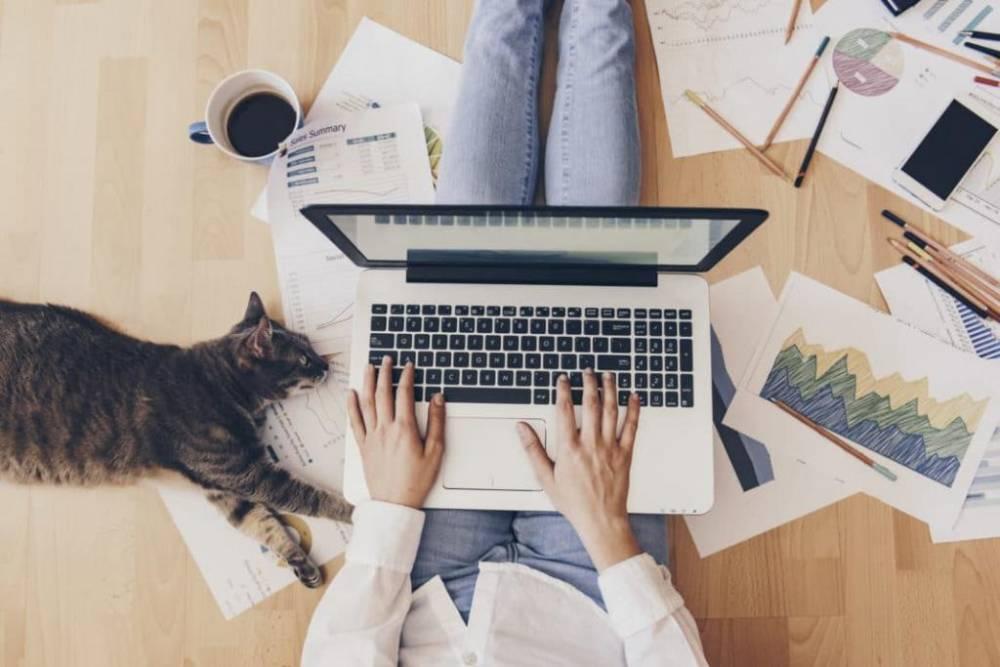 Дома организуйте себе удобное рабочее место