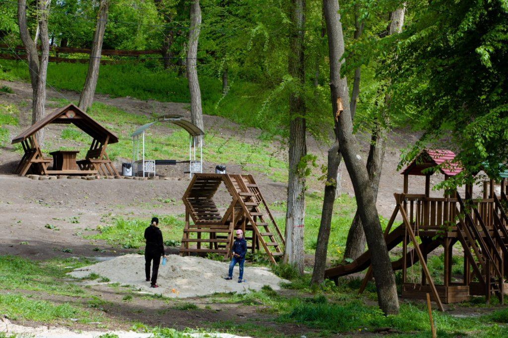 Парк Зеленый Гай в Днепре