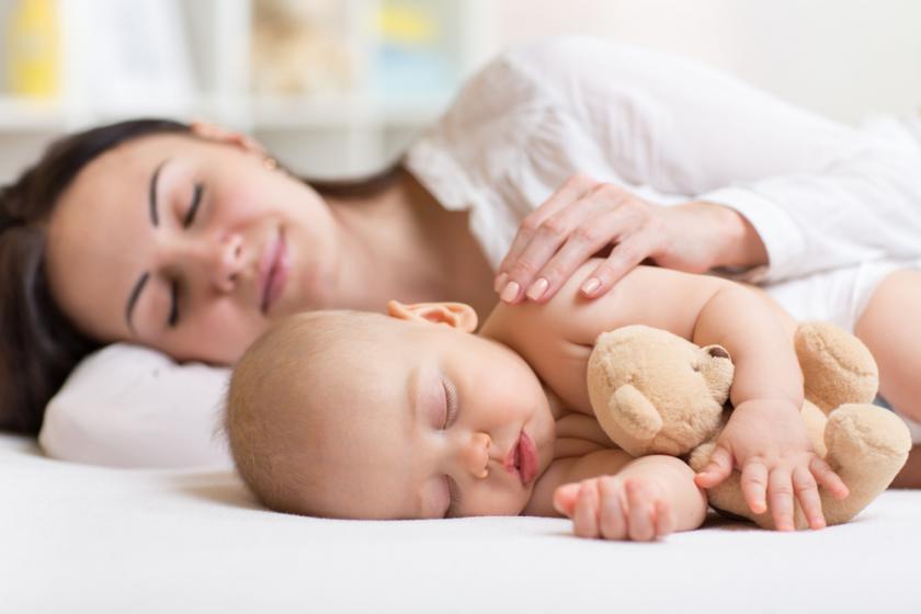 Здоровый сон молодой мамы – важная составляющая похудения
