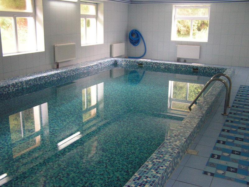 Крытый бассейн в отеле «Natali», Славское