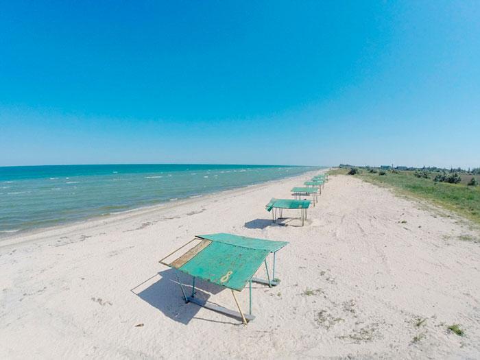 Пляжный отдых на Азове в июне