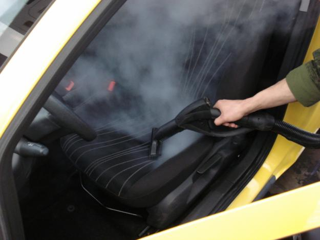Пароочиститель для автомобиля