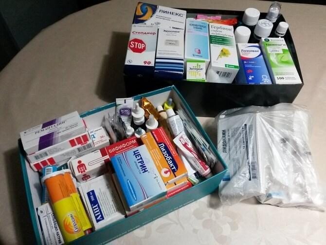 Домашняя аптечка