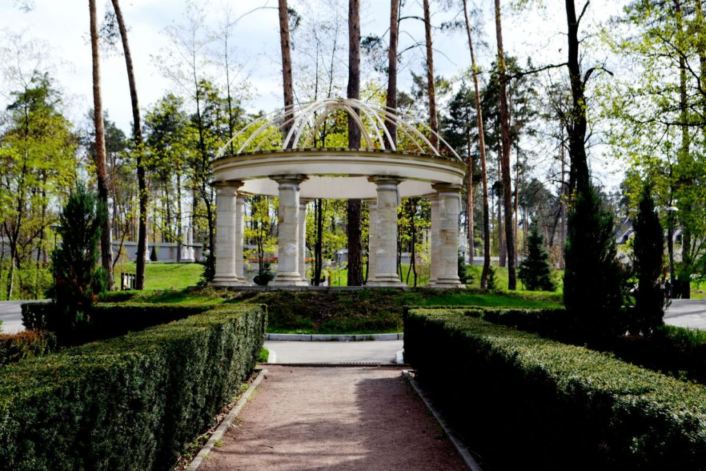 Бучанский парк под Киевом