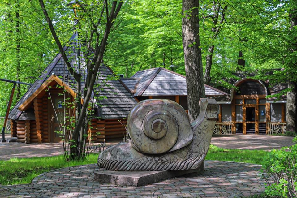 Городской парк в Буче возле Киева