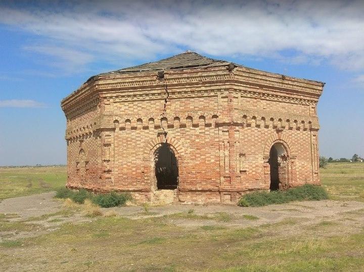 Масонський храм в Круглоозерці, Херсонська область