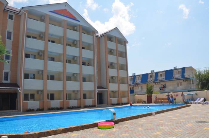 Отдых на Черном море: гостиница «Orange»