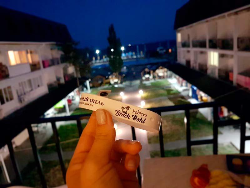 Пляжный отель в Коблево