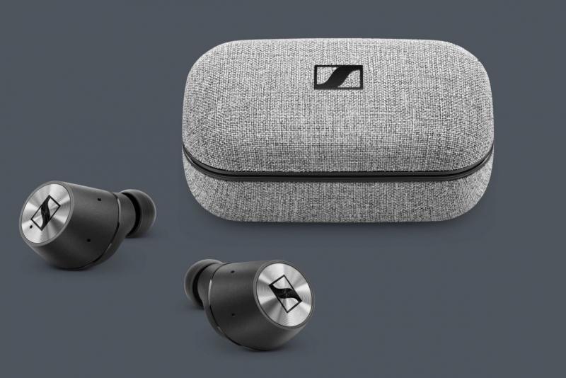 Музыкальные TWS-наушники Sennheiser Momentum True Wireless