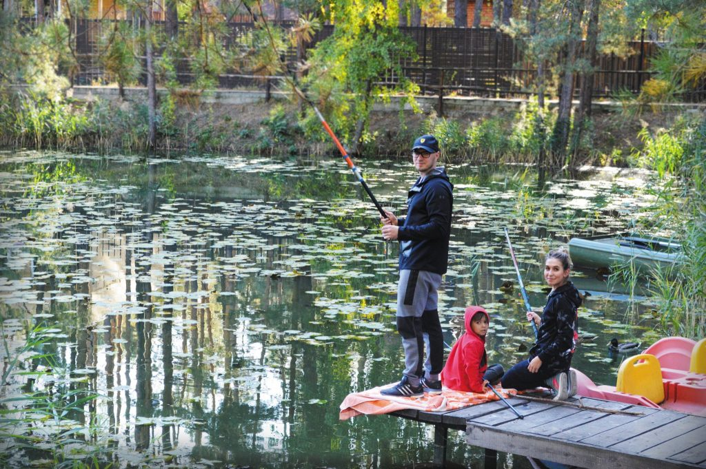 Приятно провести отпуск на рыбалке в «Сосновель»