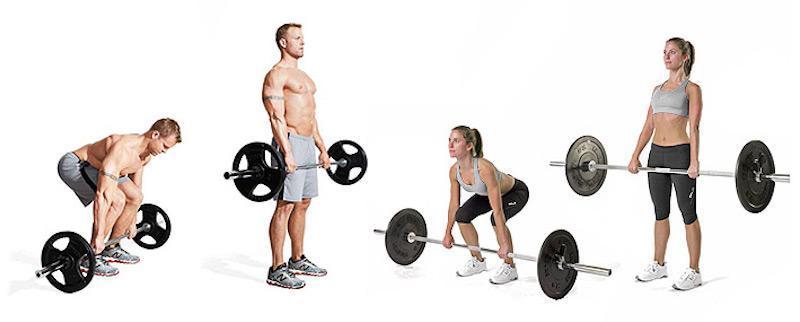 Становая тяга для мужчин и женщин