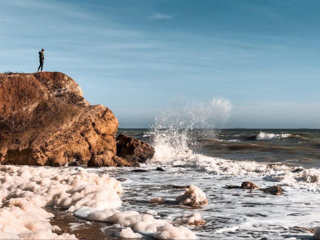 дикий пляж фонтанки