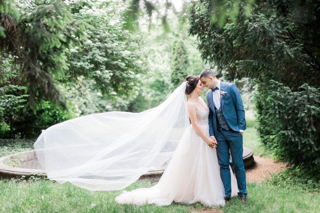 весільний фотосест у ботсаду