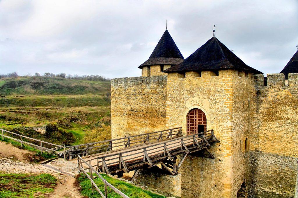 Мост Хотинской крепости