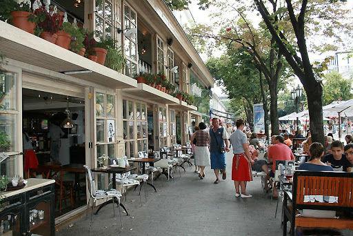 Кафе «Компот» на Дерибасовской