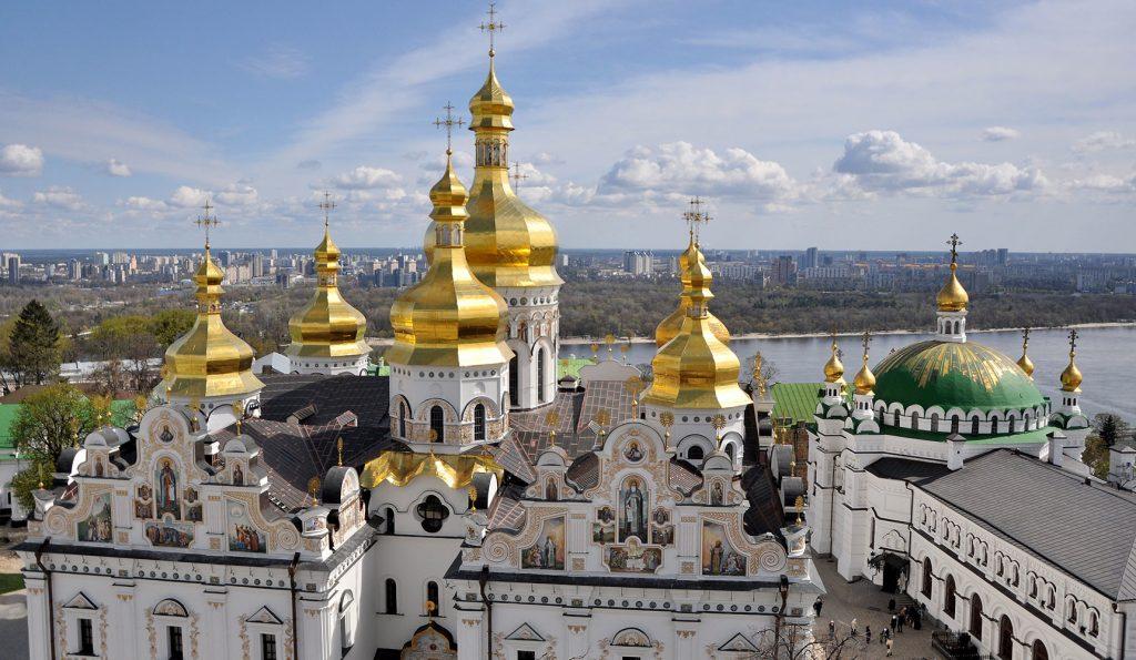 Купола Киево-Печерской лавры