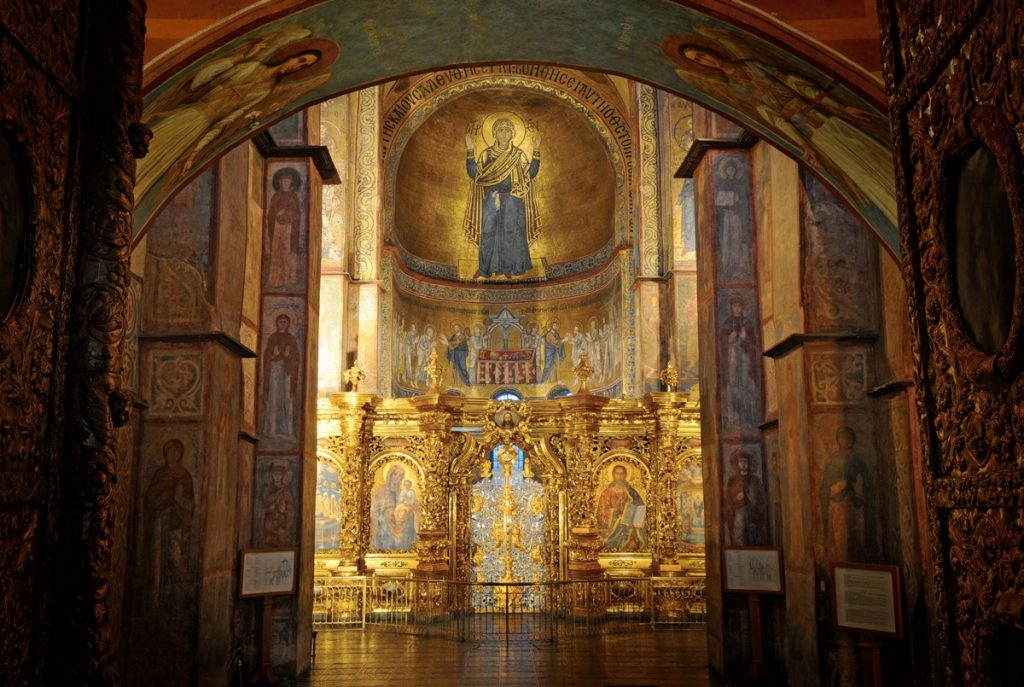 Мозаики Софии Киевской