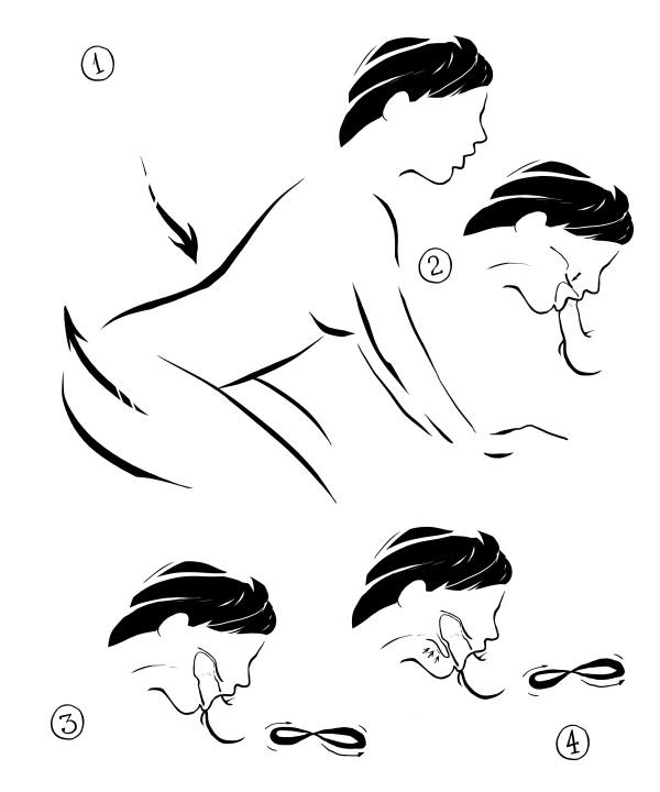 Техника орального секса «Восьмерка»