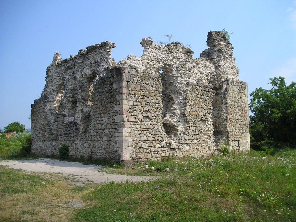 Середнянский замок тамплиеров
