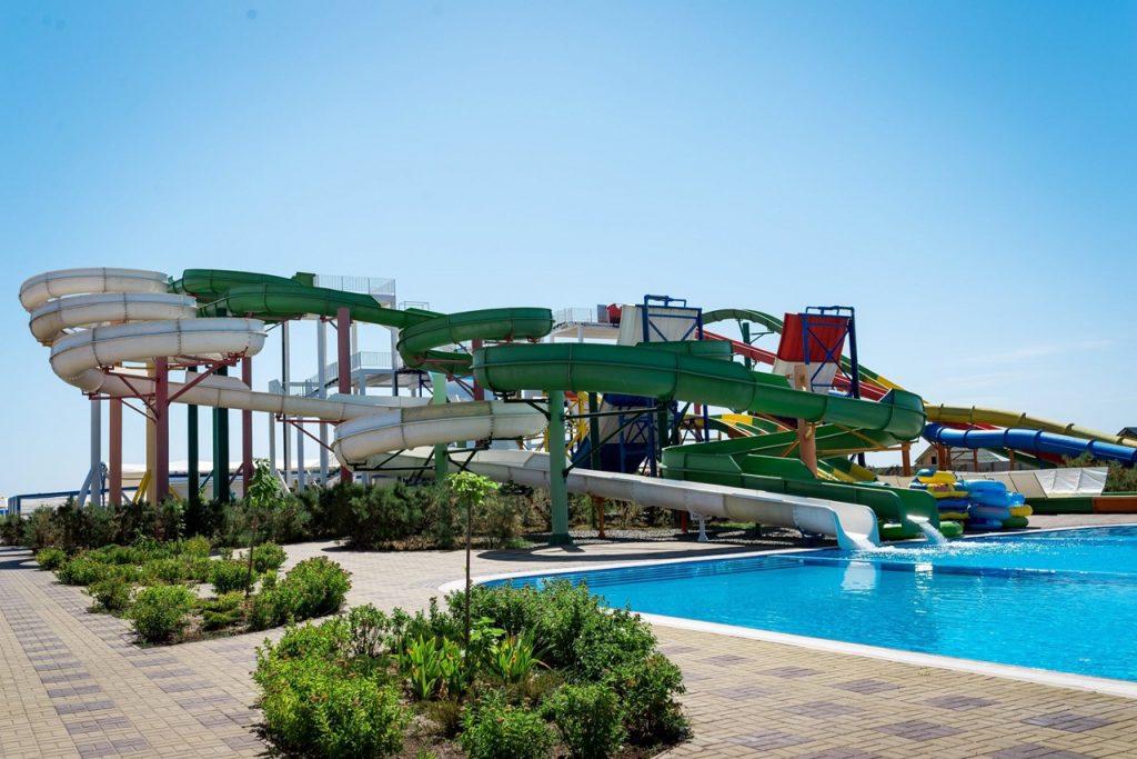 Аквапарк «Оазис» у Генгірці