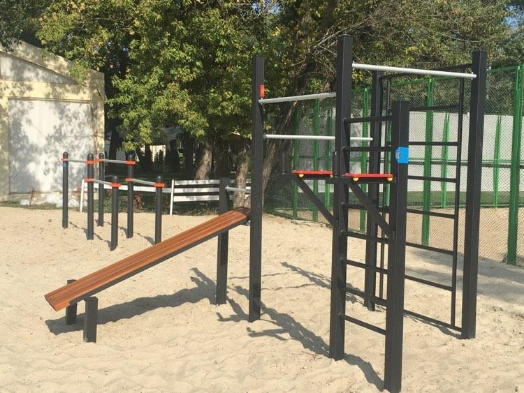 Спортивная площадка на пляже «Золотой»