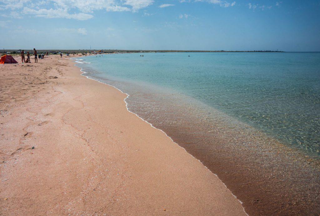 морське узбережжя Генічеська