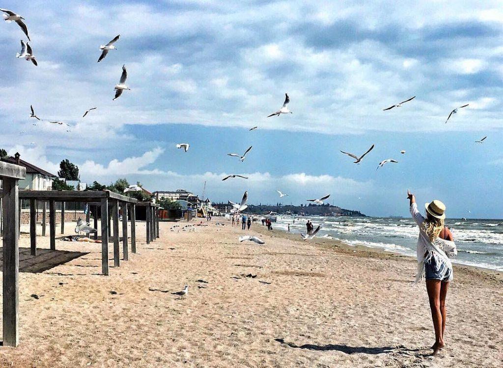 Коблево – отличный курорт, чтобы отдохнуть на море в августе